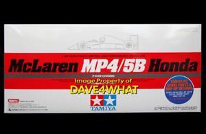 Tamiya 1/10 F1 MCLAREN MP 4/5B R/C Car Kit # 84192 New Discontinued MIB