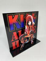 """Kiss Alive II Paul Stanley 3D album display 8"""" standee vinyl holder (figure)"""