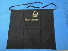 "5 Singha Beer Aprons Embroidered ""Lion Of Asia"" Logo Pub Bar Wait staff Long"
