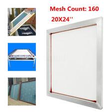 24''x20'' Aluminum Silk Screen Printing Press Screens Frame With 160 Mesh Count