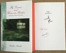Fly Leaves & Waterside Sketches By Gordon Mackie Signed First Edition Fishing