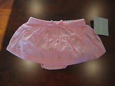 NEW Baby Girl Skirt 6-9 Months Pink Embroidered Flowers Sonoma