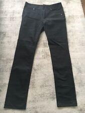 Djab Men's Jeans Stretch Slim Black 32