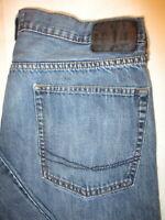 Bullhead Slim Fit Straight Leg Mens Blue Denim Jeans Size 34 x 33