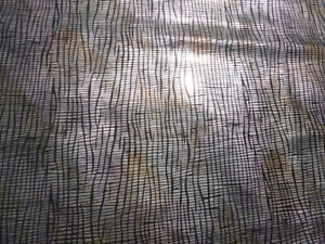 Pigskin leather suede hide Metallic Earth Tones Organic Abstract print -WILD!!