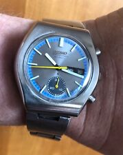 """Vintage SEIKO Chronograph watch: 6139-8020 """"Little Racer"""" in excellent condition"""