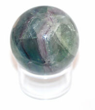 Rainbow Fluorite Crystal Ball -30mm Dia. Mental Enhancer, 3rd Eye #9409