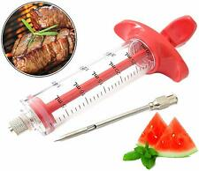 Bundaloo Marinade Injector For Barbecue Grill Meat Poultry or Fruits