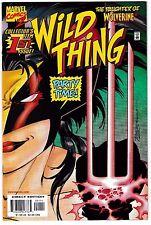 WILD THING 1 (NM-) Wolverine's Daughter! Rina Logan! MC2 Universe 1999 Marvel