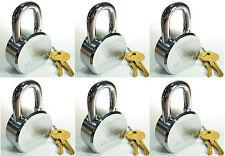 Lock Set by Master 6230KA (Lot of 6) KEYED ALIKE Solid Steel Extreme Security