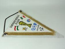 GAGLIARDETTO CALCIO VINTAGE - CAMPIONATO MONDIALE MESSICO WORLD CUP MEXICO 1986