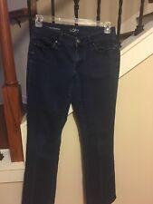 ANN TAYLOR LOFT Ladies Size 6 curvy Sexy Boot Cut Blue Jeans