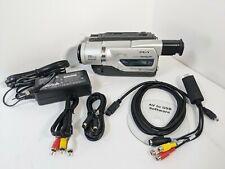 Sony Dcr-Tr8000E Pal Camcorder 8mm Hi8 Digital8 Usb, Worldwide Shipping from Usa