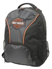 Harley-Davidson Embroidered Bar & Shield Colorblocked Backpack, Black 7180609
