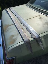 1960 1961 Ford Starliner Accessory Vent Shades Rain Deflectors Stainless Pair