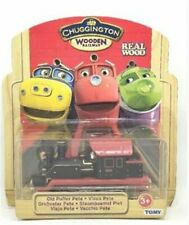 TOMY CHUGGINGTON WOODEN MAGNETIC TRAIN- OLD PUFFER PETE HEAD