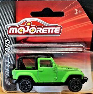 Majorette 2019 Jeep Wrangler Rubicon Viper Green #224 Street Cars New