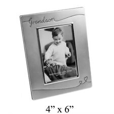 "GRANDSON Potrait Photo Picture Frame 4x6"" NEW"