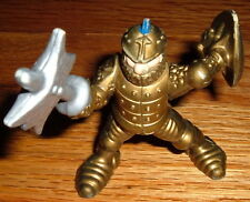 1994 F-P Gold Knight w/axe & Shield action Figure old Medieval Renaissance old