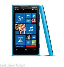 Nokia Lumia 920 - 32GB Blue (AT&T ) Smartphone Cell Phone T-Mobile Unlocked Cyan