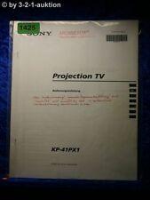 Sony Bedienungsanleitung KP 41PX1 Projection TV (#1425)