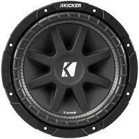 Kicker Comp Series 10 Inch 4 Ohm Subwoofer/ 300W Peak Power / 150W RMS   43C104