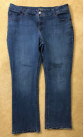 Riders By Lee Women's Blue Jeans Plus Size 18W M Good Condition