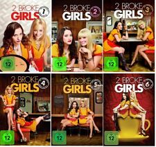 2 Broke Girls Staffel 1-6 DVD Set (1+2+3+4+5+6, 1 bis 6) NEU OVP