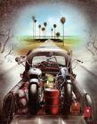 Daytona Run - David Mann artwork Wall Decor Poster , no Framed, Daytona Run