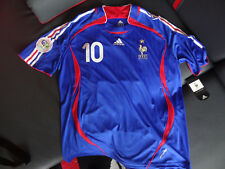 Zidane Frankreich Trikot Maillot France Shirt Jersey 2006 Player Issue FORMOTION
