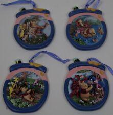 Bradford Editions Disney Winnie the Pooh 4 Limited Honey Pot Ornaments