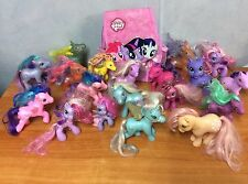 Bulk Lot Of My Little Pony - 19 Ponies & Back Pack
