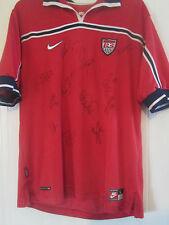 USA World Cup 1998 Squad Signed Away Soccer Football Shirt COA / 40653