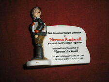 Norman Rockwell Dave Grossman Store Display Sign 1980