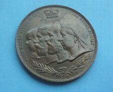 1897 Queen Victoria Commemorative Medallion, 4 Generations as shown.