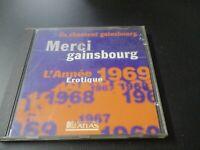 """CD """"ILS CHANTENT SERGE GAINSBOURG"""" Marie-Paule BELLE Valli Buzy Sabine PATUREL"""