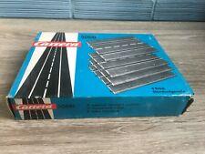 Vintage Slot Car Carrera # 50510 Straight Section Track Piece Set Original Box