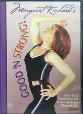 Margaret Richard's Good 'n Strong workout fitness exercise Dvd mini ball