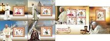 Pope John Paul II 100th Anniversary Religion Vatican MNH stamps set 6 sheets
