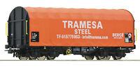 """Roco H0 76439 Schiebeplanenwagen der Tramesa Steel """"Neuheit 2020"""" - NEU + OVP"""