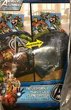 Avengers Hulk Iron Man Twin/Full Reversible Comforter Marvel Comics NEW 26340