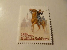 United States Scott 2818, the 29 cent Buffalo Soldiers  Mint