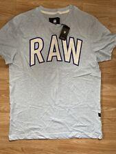 G Star New Mens Medium Blue Relaxed Fit T Shirt RRP £25