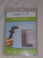 Brondell CleanSpa Handheld Bidet with Dual Spray Sprayer Shattaf