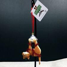 Gary Patterson 6000457 HANGING TIGHT Resin Cat Christmas Ornament by Dept.56