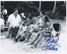 URSULA ANDRESS SIGNED 007 JAMES BOND DR NO 8x10 PHOTO 18- AFTAL  UACC AUTOGRAPH