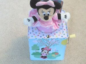 Disney Baby Minnie Mouse Jack in The Box--FREE SHIPPING!