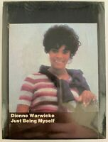 NOS Dionne Warwicke Warwick Just Being Myself 8 Track Stereo Tape Warner SEALED