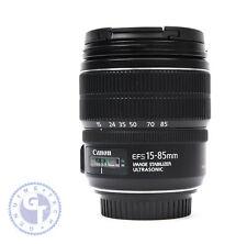 Canon EF-S 15-85mm f/3.5-5.6 IS USM Lens - UK MODEL