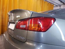 LEXUS IS200 IS 220d IS 250 IS-F WALD 2006-2013 stile Heck Spoilerlippe GEMALT